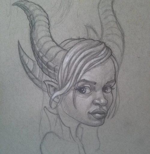 Demon Queen Sketch