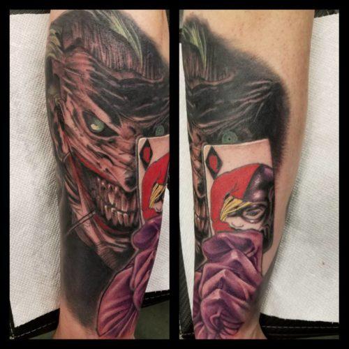 Joker (half healed half fresh)