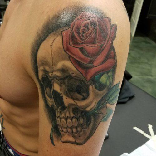 Healed Skull and Rose