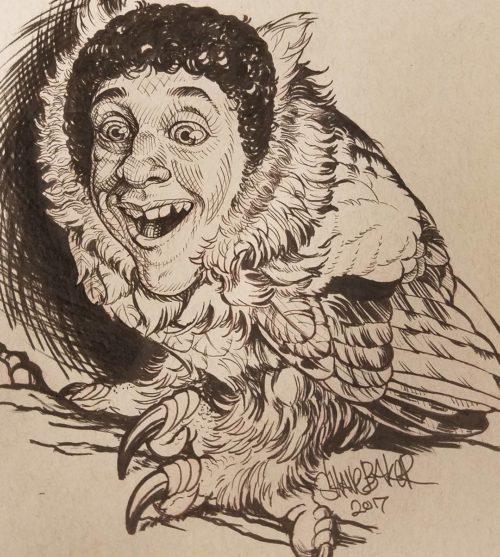 Skreech Owl