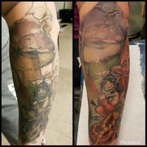 Froud Rework/cover-up